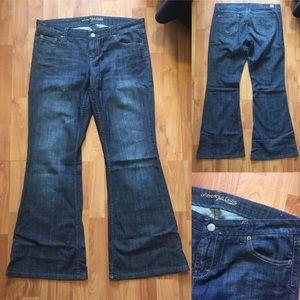 American Eagle Vintage Flare/Wide Leg Jeans 14R